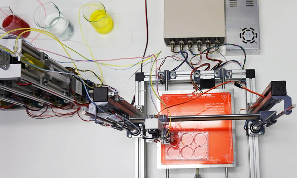 Científicos españoles crean una bioimpresora 3D de piel humana