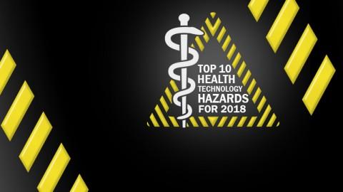 Top 10 Riesgos de la tecnología Médica para el 2018